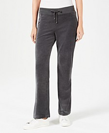 Velour Pull-On Pants, Created for Macy's