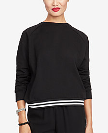 RACHEL Rachel Roy Yasmin Crossback Sweatshirt, Created for Macy's