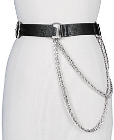 Steve Madden Chain-Link Pants Belt