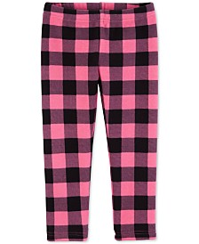 Carter's Toddler Girls Plaid Fleece Legging