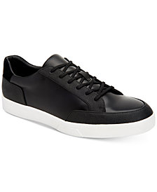 Calvin Klein Men's Izar Leather Sneakers