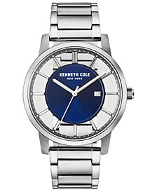 Kenneth Cole New York Men's Stainless Steel Bracelet Watch 44mm