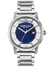 Kenneth Cole New York Men's Stainless Steel Bracelet Watch 44mm