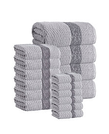 Enchante Home Anton 16-Pc. Turkish Cotton Towel Set