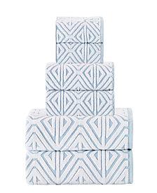 Enchante Home Glamour 6-Pc. Turkish Cotton Towel Set