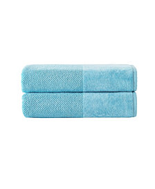 Enchante Home Incanto 2-Pc. Bath Sheets Turkish Towel Set