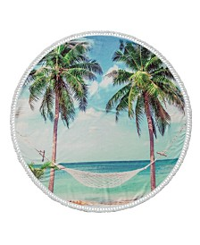 Summer Round Turkish Cotton Beach Towel