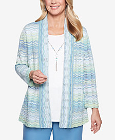Alfred Dunner Simply Irresistible Layered-Look Necklace Top