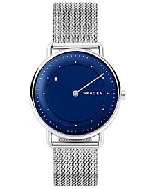Skagen Men's Horisont Stainless Steel Mesh Watch 40mm, A Special Edition