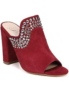 Fergie Lillie Women's Studded Block Heel Mules