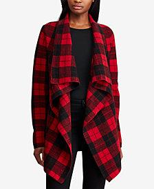 Lauren Ralph Lauren Checked Wool Sweater