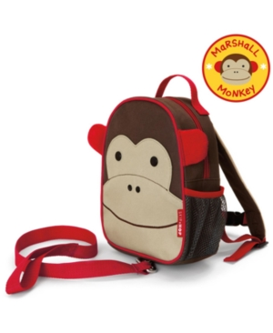 Skip Hop Zoo Marshall Monkey Safety Harness In Multi