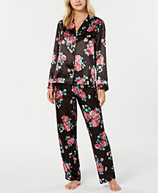 Thalia Sodi Floral-Print Pajama Set, Created for Macy's