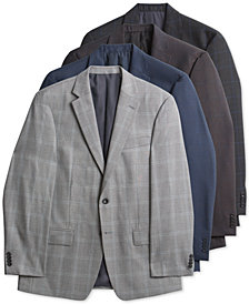 Michael Kors Men's Classic-Fit Plaid Sport Coat