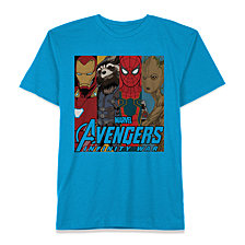 Marvel Big Boys Avengers Graphic Cotton T-Shirt