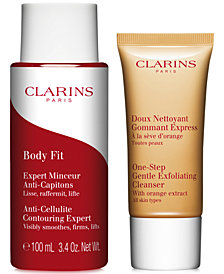 Receive a FREE 2-Pc. Body gift with $150 Clarins Purchase!