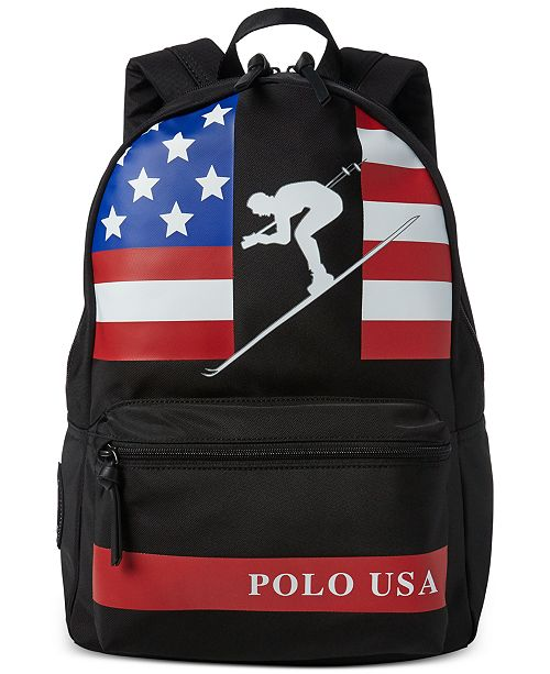 f51134ecea Polo Ralph Lauren Men s Water-Repellent Downhill Skier Backpack ...