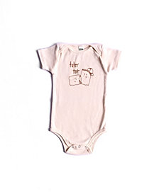 BonBonBaby Apparel Organic Cotton Tater Tot One-Piece for Baby Boys or Girls
