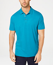 Tasso Elba Men's Brushed Pima Cotton Polo, Created for Macy's