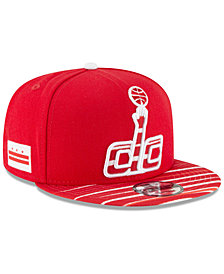 New Era Washington Wizards City Flag 9FIFTY Snapback Cap