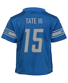 Nike Golden Tate Detroit Lions Game Jersey, Little Boys (4-7)