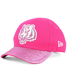 New Era Girls' Cincinnati Bengals Shimmer Shine Adjustable Cap