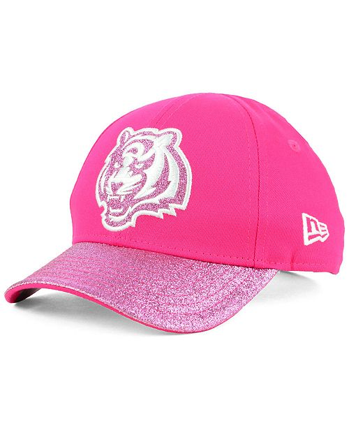 db98f6fb New Era Girls' Cincinnati Bengals Shimmer Shine Adjustable Cap ...