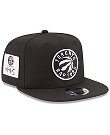 New Era Toronto Raptors Anniversary Patch 9FIFTY Snapback Cap