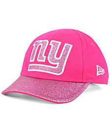 New Era Girls' New York Giants Shimmer Shine Adjustable Cap