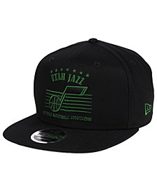 New Era Utah Jazz Retro Arch 9FIFTY Snapback Cap