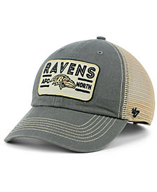 '47 Brand Baltimore Ravens Sallana Mesh CLEAN UP Cap
