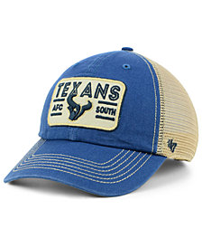 '47 Brand Houston Texans Sallana Mesh CLEAN UP Cap