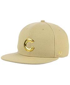 '47 Brand Chicago Cubs Khaki Snapback Cap