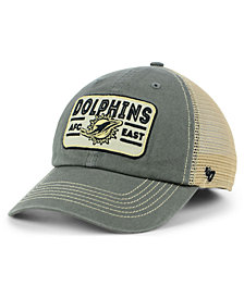 '47 Brand Miami Dolphins Sallana Mesh CLEAN UP Cap