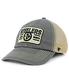 '47 Brand Pittsburgh Steelers Sallana Mesh CLEAN UP Cap