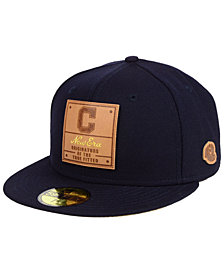 New Era Cleveland Indians Vintage Team Color 59FIFTY Fitted Cap