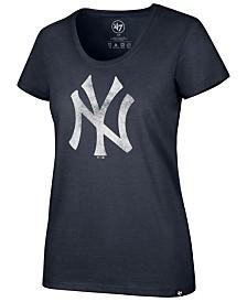 '47 Brand Women's New York Yankees Club Scoop Logo T-Shirt