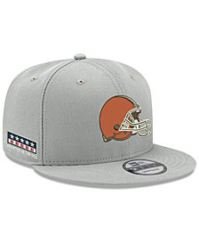 New Era Cleveland Browns Crafted in the USA 9FIFTY Snapback Cap
