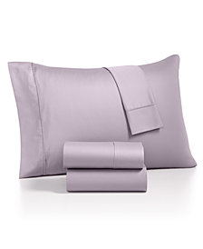 AQ Textiles Monroe 4-Pc. Queen Sheet Sets, 1000 Thread Count Egyptian Blend