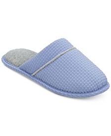 Dearfoams Textured Knit Closed Toe Scuff, Online Only