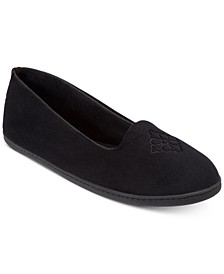 Women's Rebecca Velour Closed Back Slipper