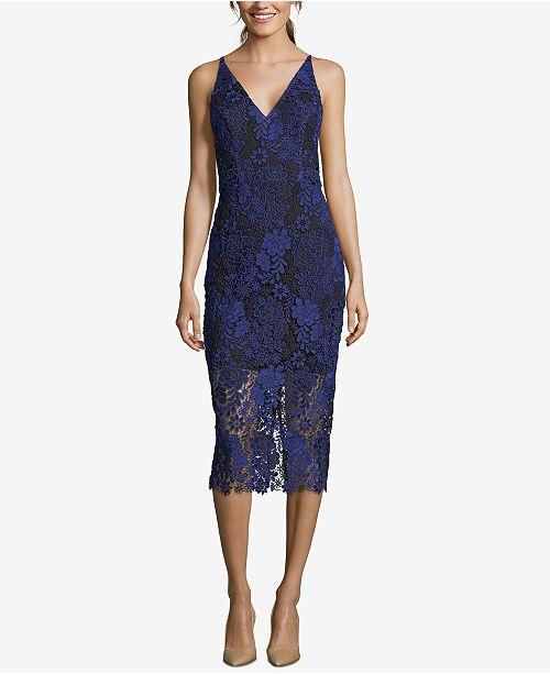 4bb8914607a XSCAPE Embroidered Lace Sheath Dress  XSCAPE Embroidered Lace Sheath Dress  ...