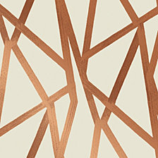 Genenieve Gorder For Tempaper Intersections Self-Adhesive Wallpaper