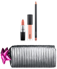 MAC 4-Pc. Shiny Pretty Things Goody Bag Lip Set - Limited Edition, A $64 Value!