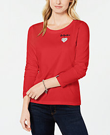 Tommy Hilfiger Love You More Top, Created for Macy's