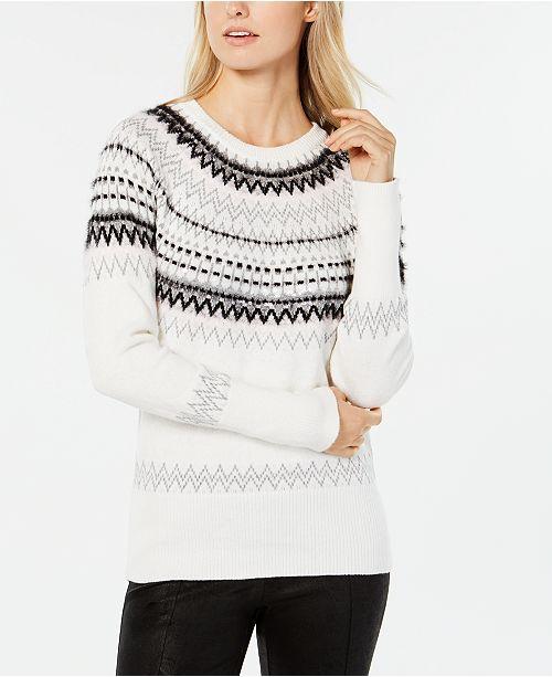00dd73afa Tommy Hilfiger Sequined Fair Isle Sweater