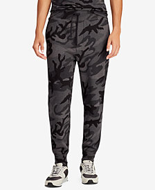 Polo Ralph Lauren Men's Big & Tall Camouflage Fleece Jogger Pants