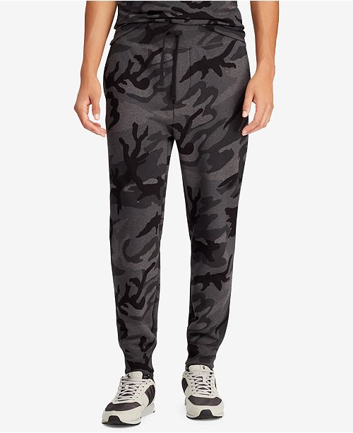 66b4c15f3756f Polo Ralph Lauren Men's Big & Tall Camouflage Fleece Jogger Pants ...