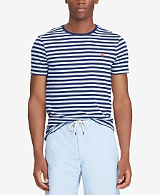 Polo Ralph Lauren Men's Classic Fit Striped Cotton T-Shirt