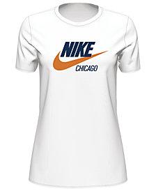 Nike Sportswear Chicago Cotton Logo T-Shirt